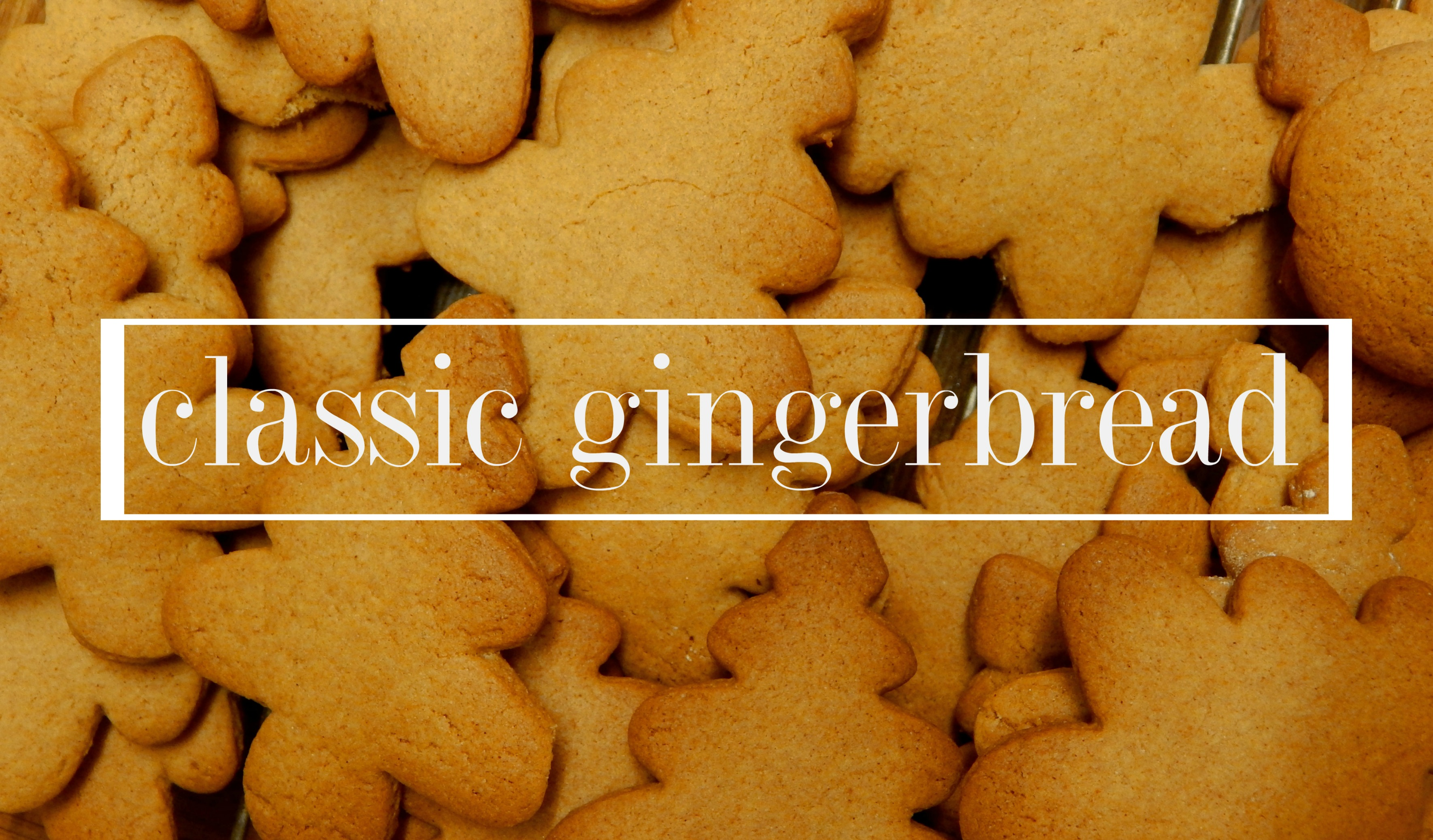 classic gingerbread
