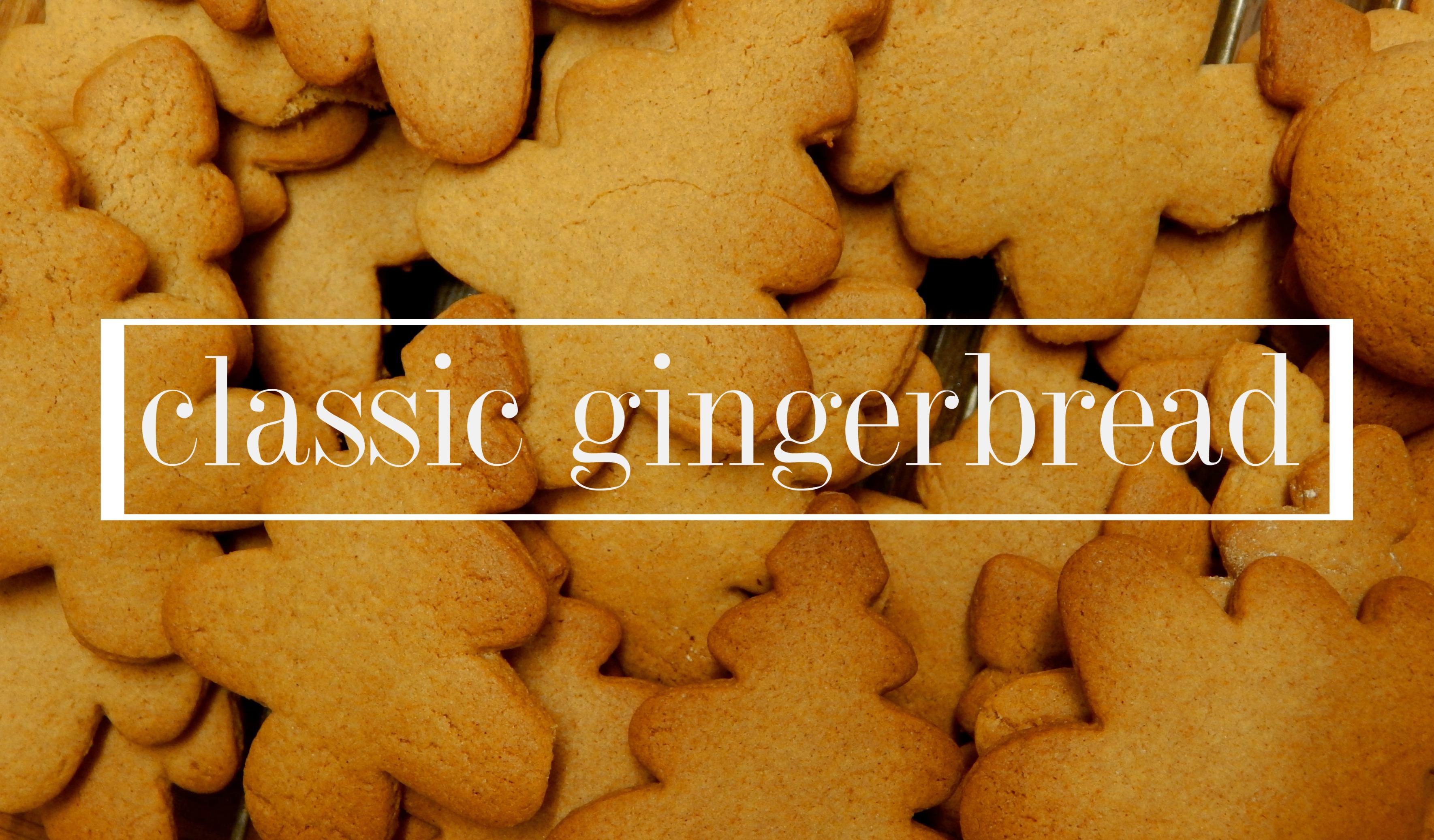 classic gingerbread