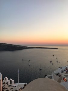 A day in Santorini